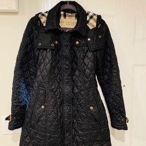 Women's LG Burberry Coat